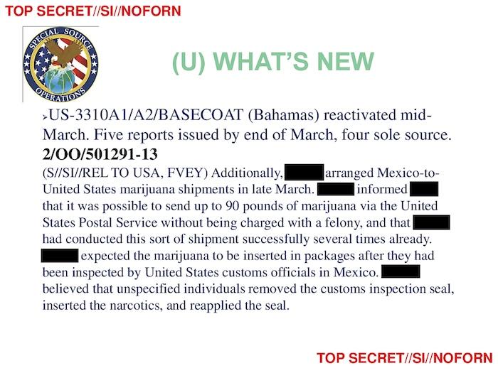 NSA Leak: Spying on Bahamas, Mexico, Kenya, the Philippines
